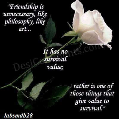 Value of Friendship