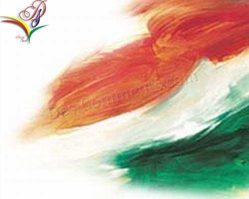 Colors of Indian Flag