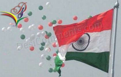 Picture: Independence Day – 15th August