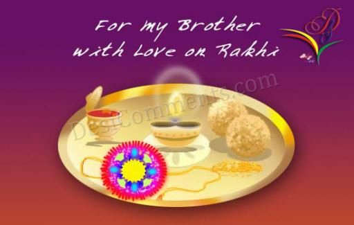 For My Brother, With Love On Rakhi
