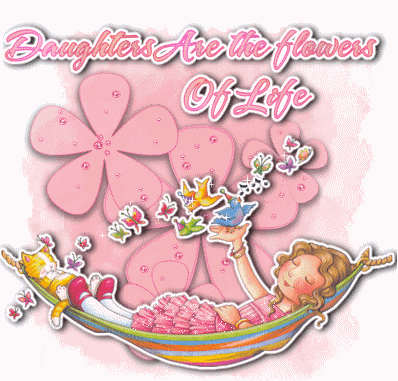 Picture: Glittering Daughter Day Graphic
