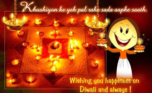 Picture: Wishing you happiness on Diwali