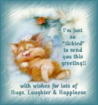Hugs, Laughter & Happiness