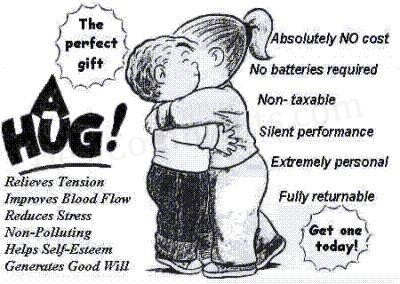 The Perfect Gift: A Hug