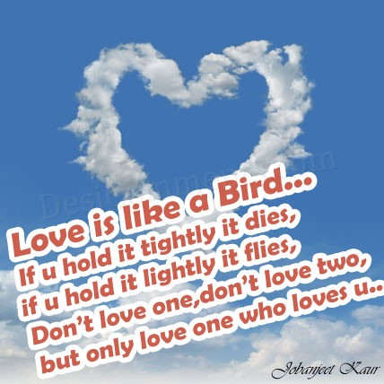 Only love one