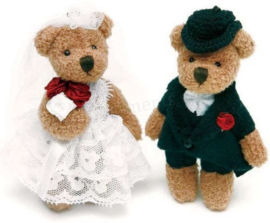 Teddy Bear Couple