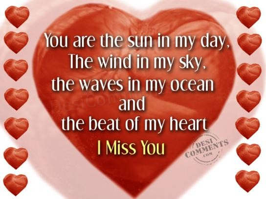 I miss you heart pictures