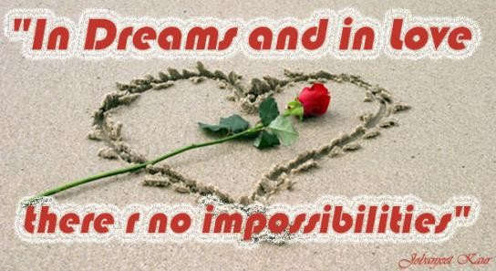 In Dreams and In Love