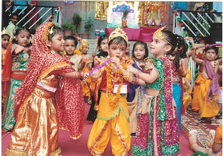 Picture: Enjoy Janamashtmi With Kids