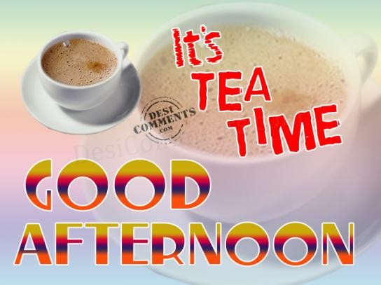 Its Tea Time Desicommentscom