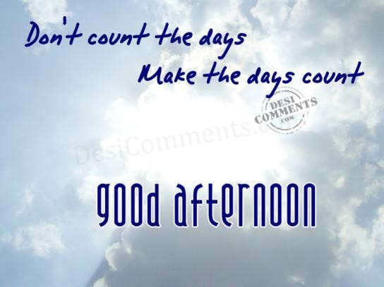 Good Afternoon Desicommentscom