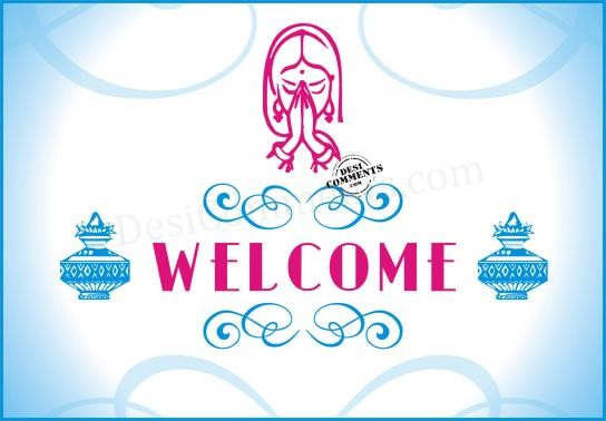 Welcome (Indian Style)