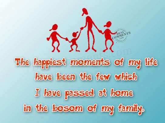 Happiest Moment With Family Ssmatters