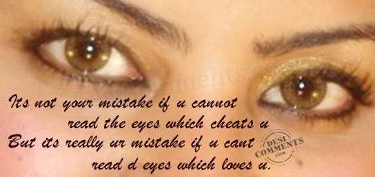 Eyes which loves you