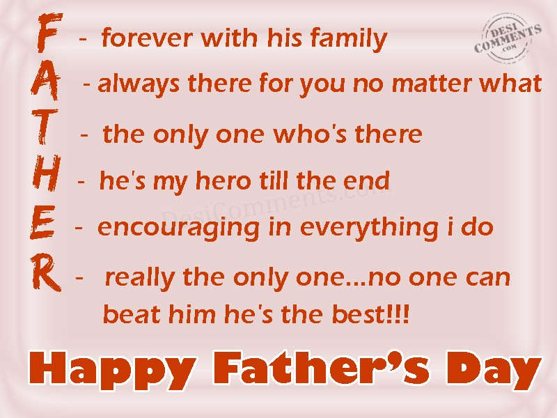 Happy fathers day daddy - 3 8
