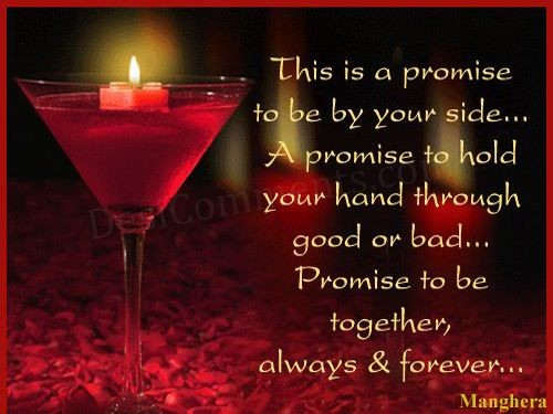 Promise to be together