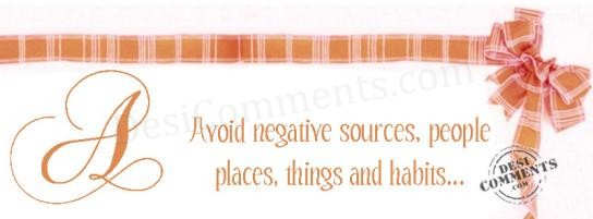 Avoid Negative