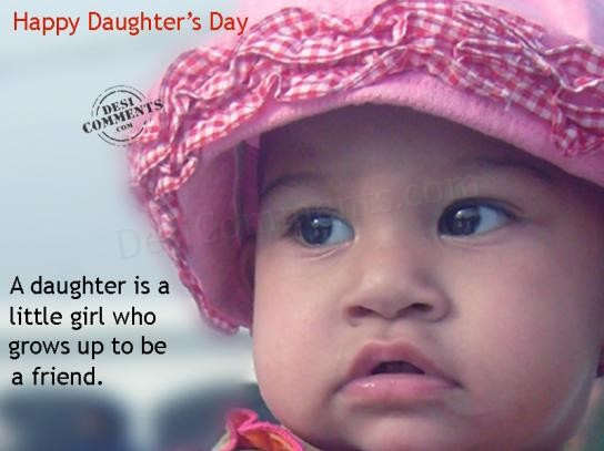 Picture: A daughter is a little girl…