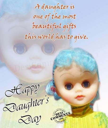 Picture: A daughter is one of the most beautiful gifts