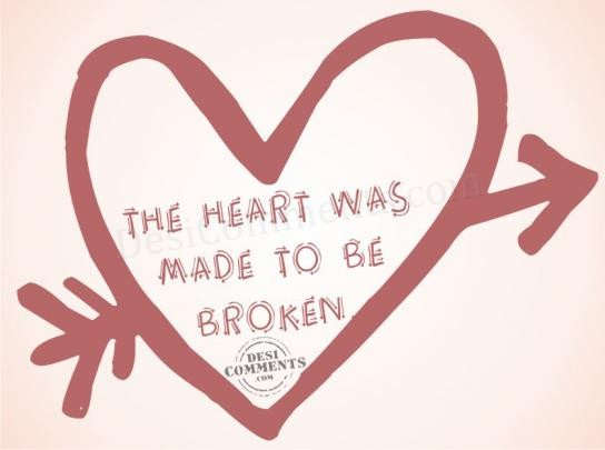 Picture: The heart was made to be broken