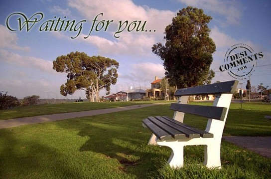 Picture: Waiting for you…