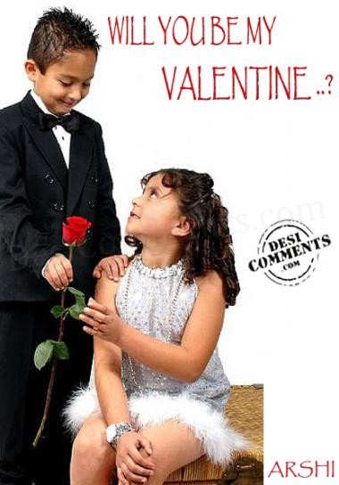 Will You Be My Valentine Desicomments Com
