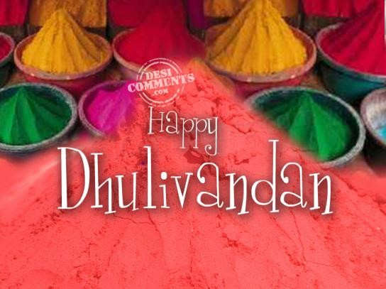 Happy Dhulivandan