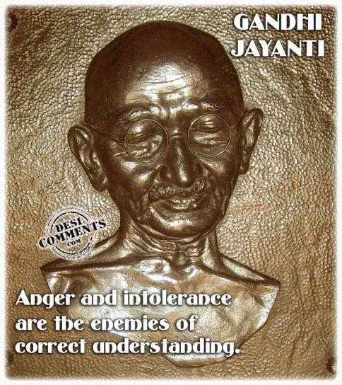 Anger and intolerance