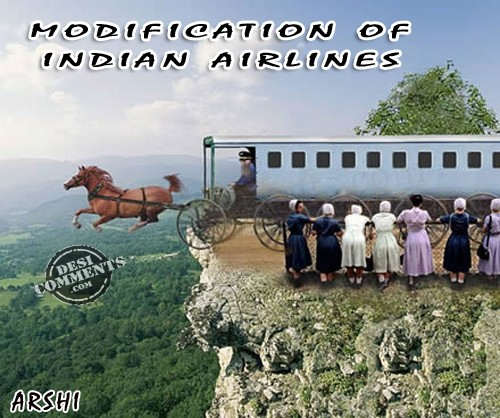 Modification of indian airlines