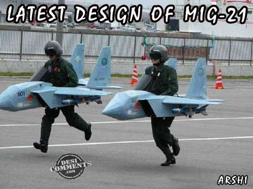 Latest Design of MIG-21