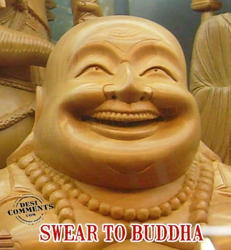 Swear to Buddha