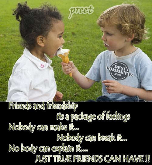 Friends and Friendship...