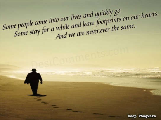 Picture: Footprints