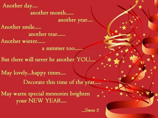 New Year...