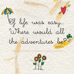 If life was easy...