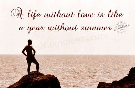 Life Without Love Quotes Delectable A Life Without Love Desicomments