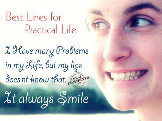Best Lines For Practical Life