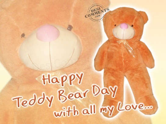 Happy Teddy Bear Day...