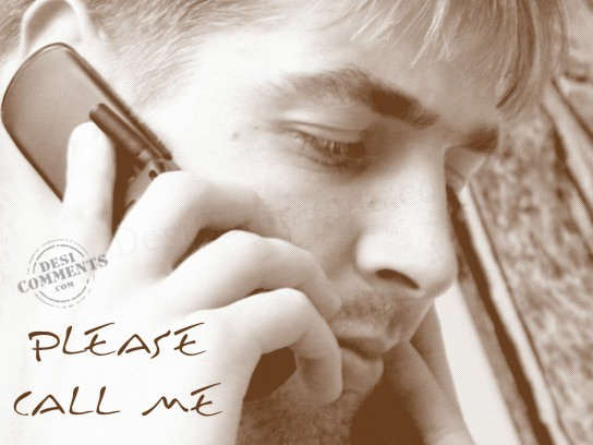 Picture: Please Call Me