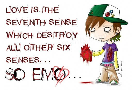 Love is the seventh sense