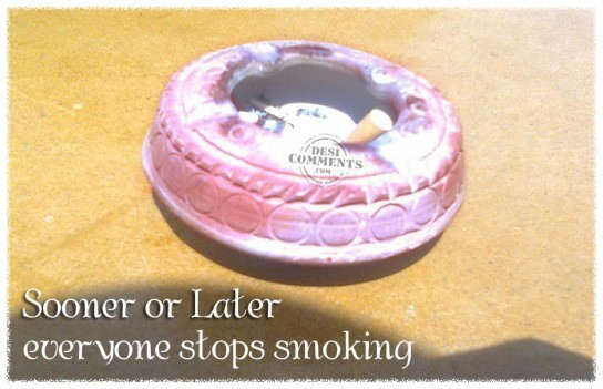 Everyone stops smoking