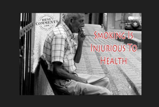 Smoking is injurious to heath