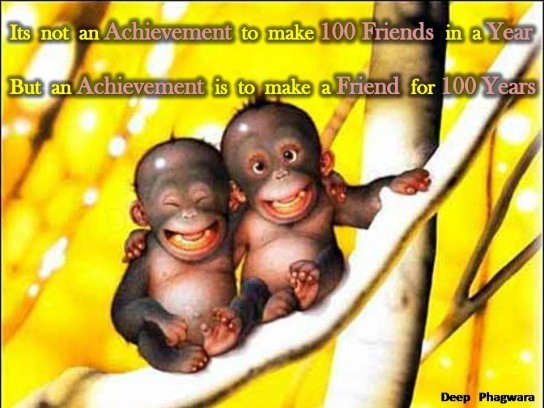 A friend for 100 years