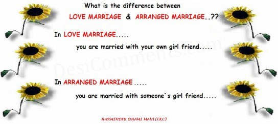 about love marriage and arranged marriage k k space