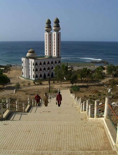 Sea Masjid in Senegal
