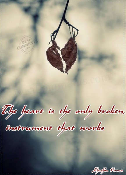 Broken Heart Boy Wallpapers With Quotes Hindi