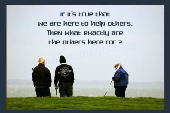 We are here to help others