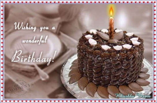 Wishing you a wonderful Birthday - DesiComments.com