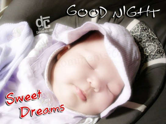 Pics Photos - Good Night Cute Baby Sweet Night Sms Quotes Gif