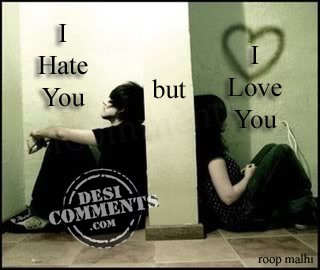 Love  Quotes on Hate You But I Love You   Desicomments Com